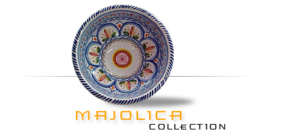 ... an area where the traditions of their forefathers have been maintained for centuries. All of the ceramic pieces in our Majolica Collection ...  sc 1 st  Tierra Fina & Imported Spanish Mexican and Portuguese Pottery Plates and Dinnerware